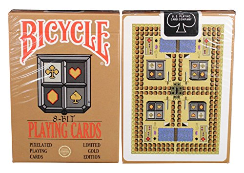 Bicycle 8-bit Platinum Playing Cards