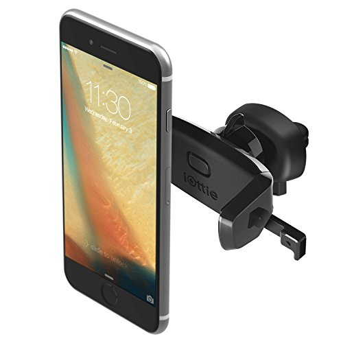 iOttie Easy One Touch Car Mount Holder for iPhoneX 8 7s 6s Plus 6s 5s 5c Samsung Galaxy S9 S8 Edge S7 S6