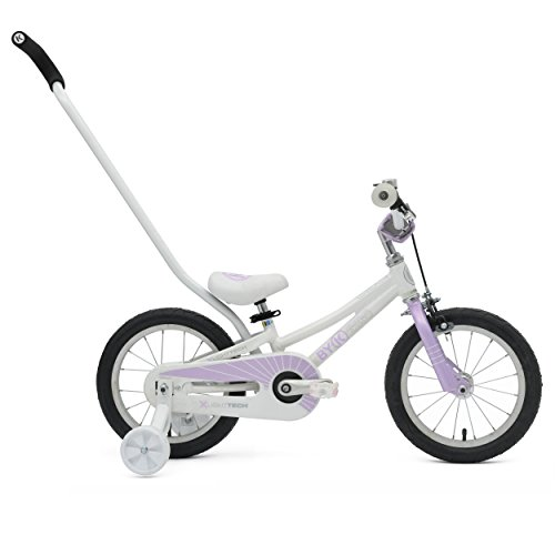 RoyalBaby Little Swan Girls Bike with basket, 14, 16 or 18 inch girls bike with training wheels or kickstand, gifts for kids, girls bicycles