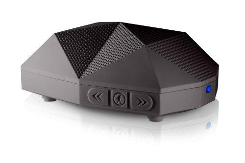 Outdoor Tech OT1301 Buckshot - Super-Portable Rugged Water-Resistant Wireless Bluetooth Speaker (Black)