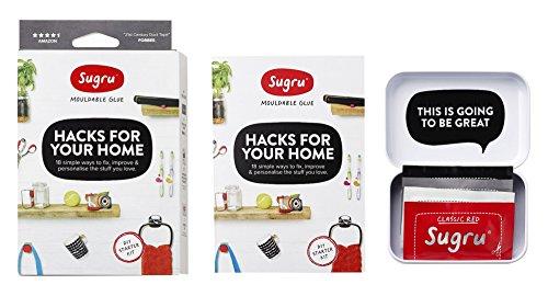 Sugru Moldable Glue - Organize Small Spaces Kit