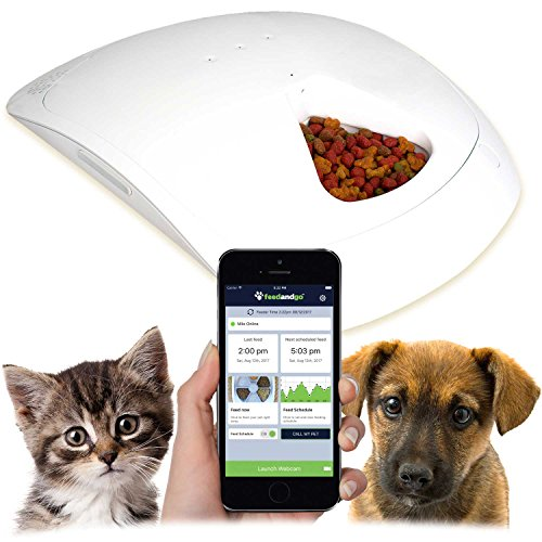 2017 New Petnet SmartFeeder, Automatic Pet Feeder for Cats and Dogs