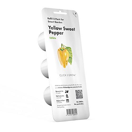 Click & Grow Smart Garden Refill Capsules | Green Sorrel 3-pack